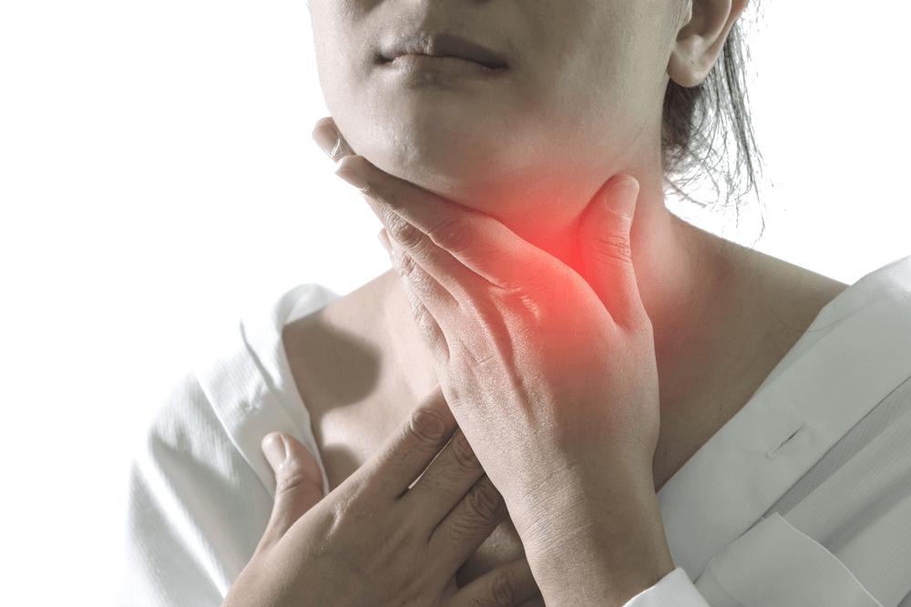 cancer de la gorge symptômes