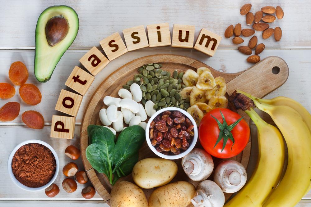carence en potassium