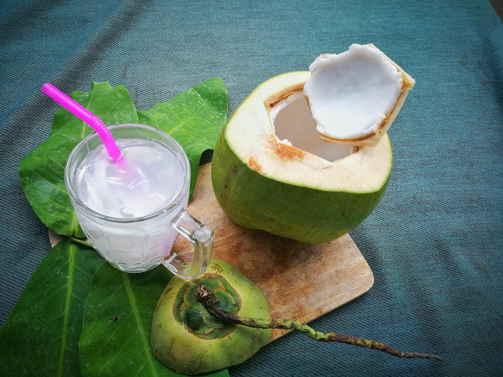 eau de coco verte