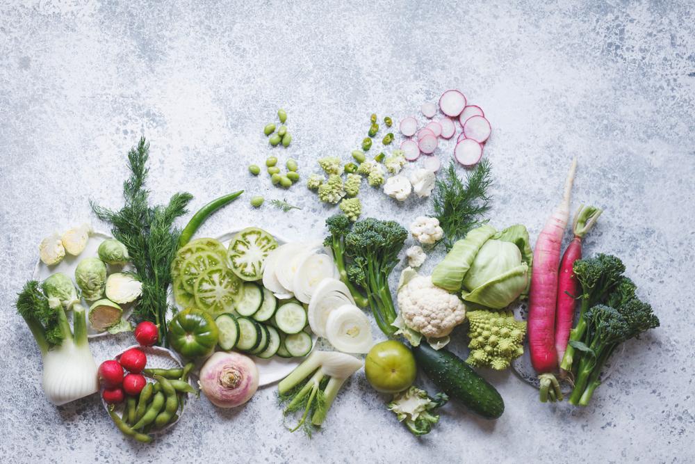 aliments à base de plantes