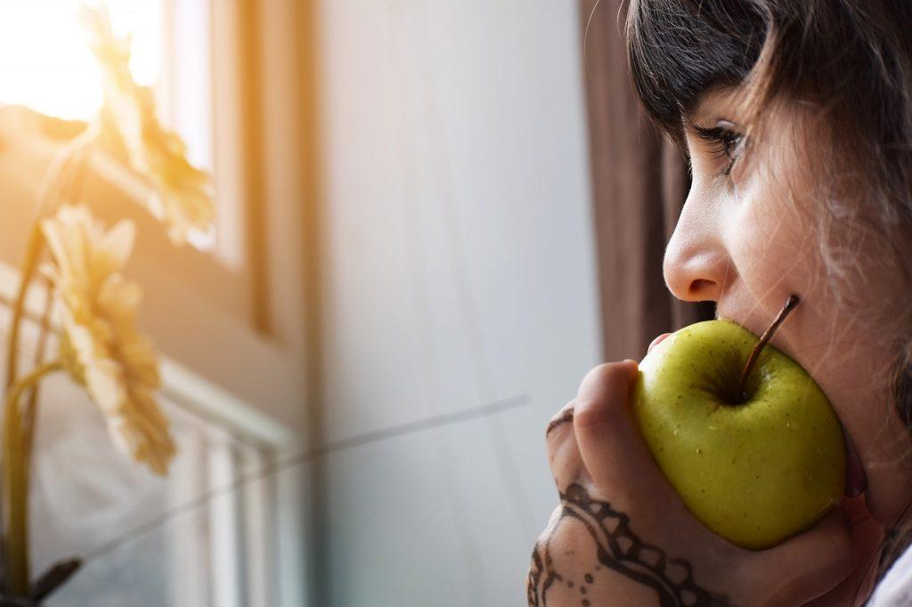 Manger de la pomme