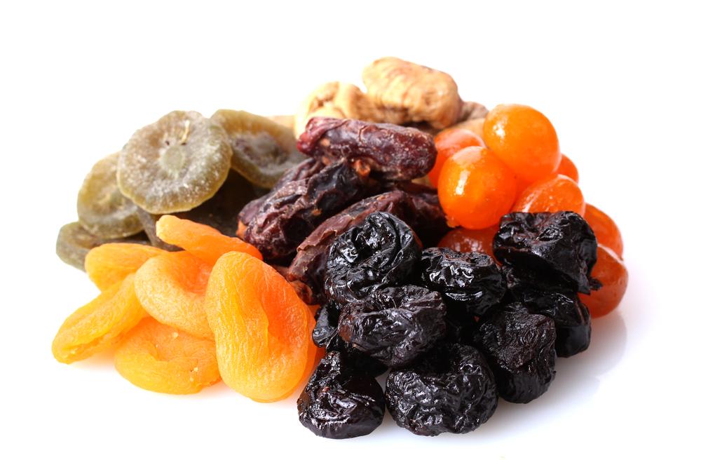 fruits secs et légumes