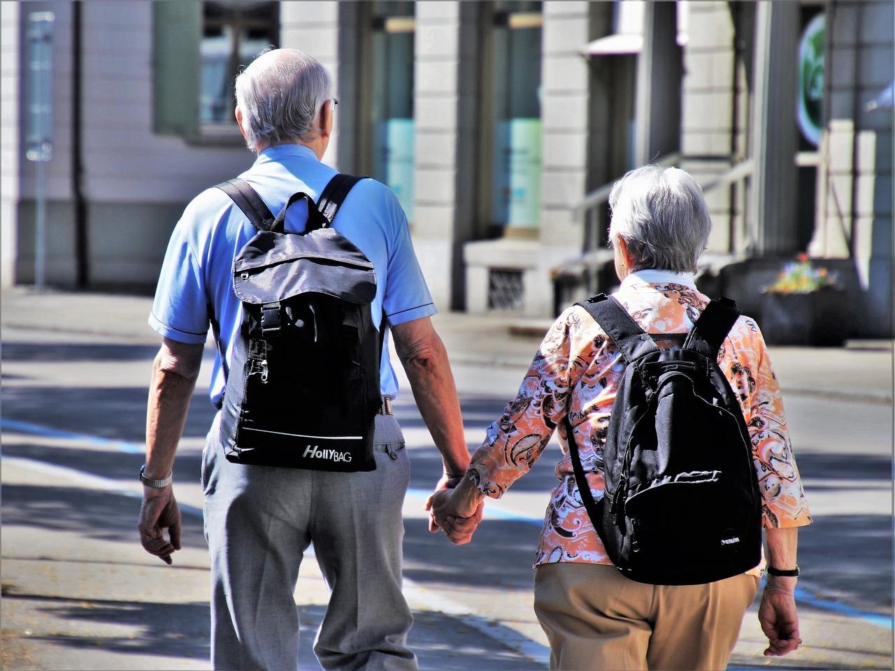 santé du senior en voyage