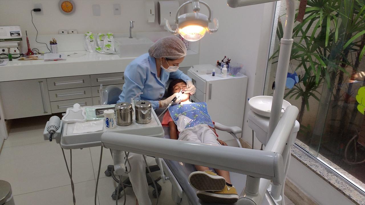 choc dentaire chez l'enfant