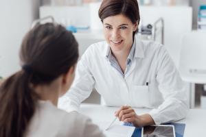une consultation médicale