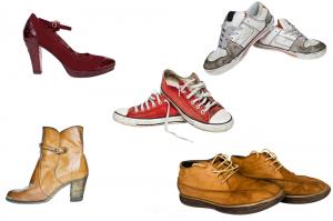 Les types de chaussures