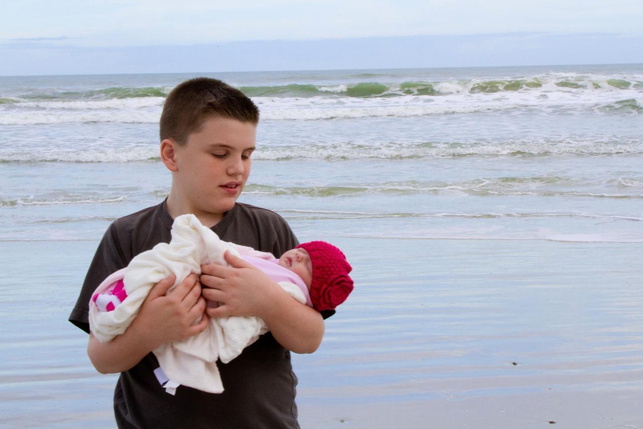 voyager avec le nouveau-né