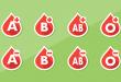 compatibilité des différents groupes sanguins