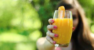 boire du jus d'orange le matin