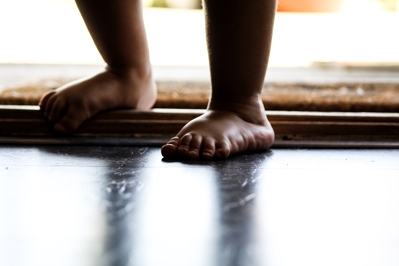pieds plats chez l'enfant