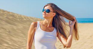 protéger les cheveux du soleil