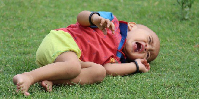 Reconnaître les signes spasme du sanglot chez les bébés et les enfants