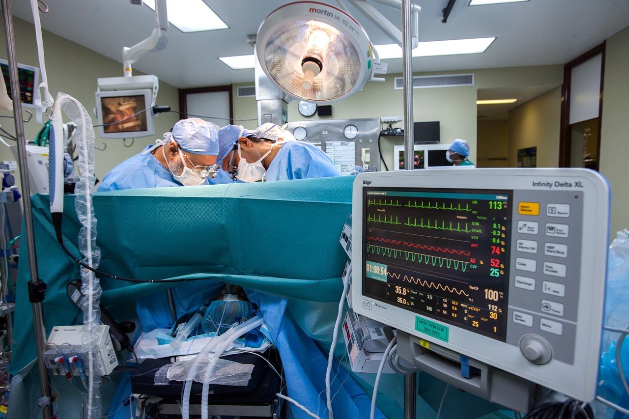 chirurgie à cœur ouvert
